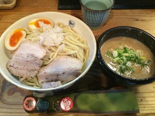 「味玉濃厚つけ麺」@麺や拓 堀江本店の写真