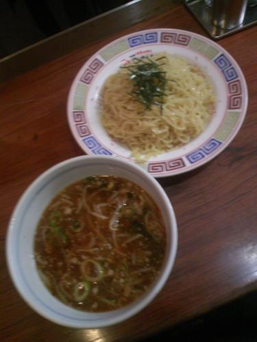 「大島つけ麺750円」@大島ラーメン 渋谷店の写真