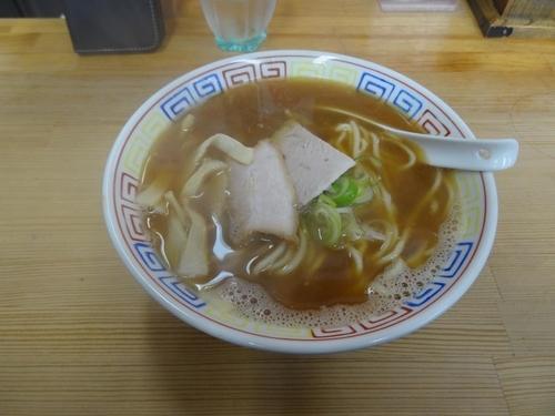 「あっこく(中/手打ち麺) 650円」@長尾中華そば 青森駅前店の写真