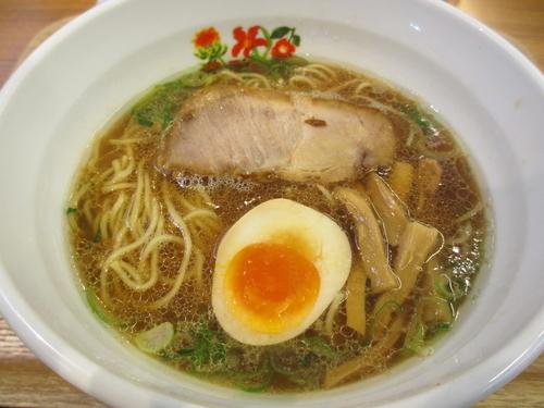 「開花屋らぁめん(正油)¥720」@開花屋 楽麺荘 御在所SA店の写真