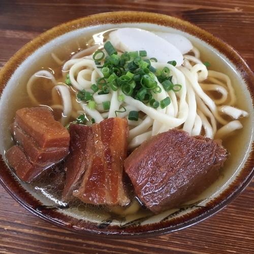 「岸本そば(大)(¥650)」@きしもと食堂 八重岳店の写真