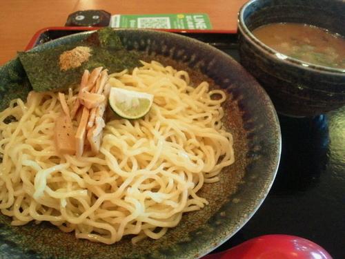 「魚介つけ麺(並) 637円」@大志軒 福島泉店の写真