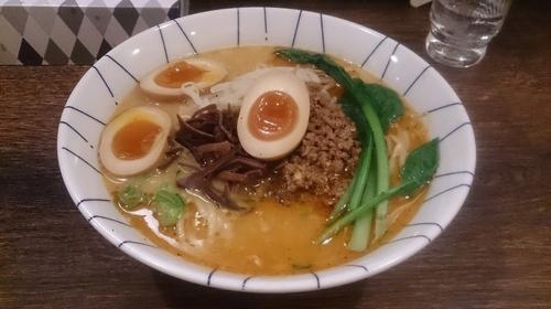 「辛味噌担担麺+味玉」@麺恋処 き楽の写真