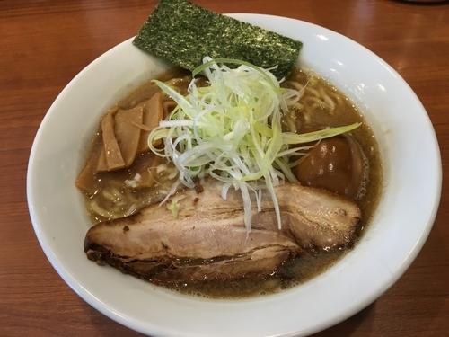 「濃厚味玉魚介 850円」@中華そば 七麺鳥の写真