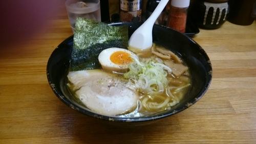 「ラーメン(太)」@つけ麺 きくちゃんの写真
