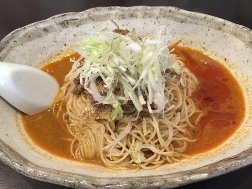 「汁なし担々麺_2辛(大盛)」@無奏天生の写真