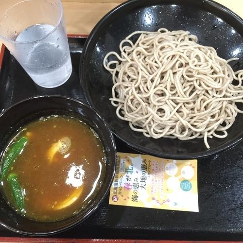 「スープカレーつけ蕎麦」@大江戸そば 池袋店の写真