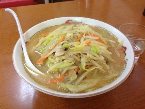 「みそ味タンメン(大盛り)750円+100円」@中華料理 八宝亭の写真