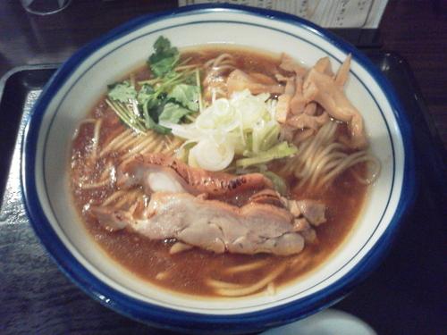 「鶏中華そば 780円」@三ツ矢堂製麺 高田馬場店の写真