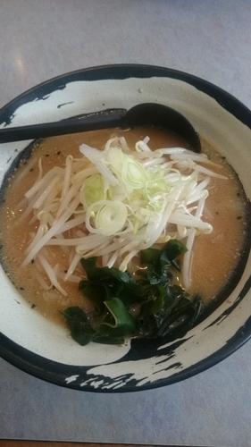 「味噌ラーメン」@らーめん すすきの 岩井店の写真
