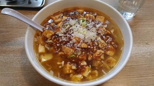 「麻婆麺(塩)」@麺飯厨房 青葉台の写真