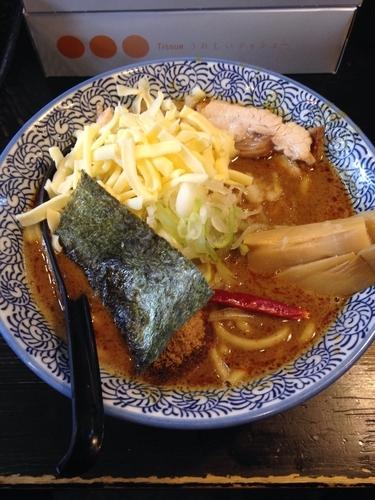 「カレーラーメン  チーズ  替玉」@狼煙 〜NOROSHI〜の写真