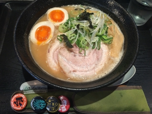 "「濃厚鶏麺+味玉」@麺組 Antaga ""大正""の写真"