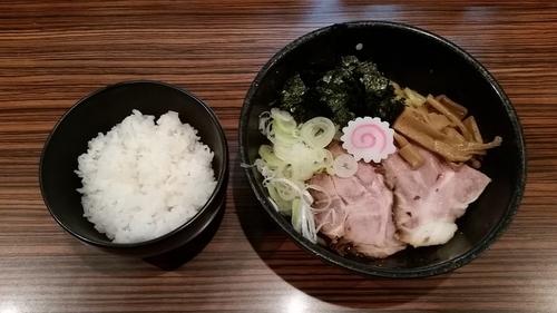 「響食ラーメン680円+半ライス70円」@麺屋渡来人外伝 麺屋饗者 ~KYOUJA~の写真