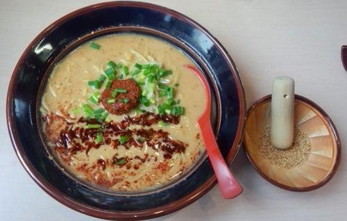 「金のマイルド担々麺1100円」@ら~めん紅釜の写真