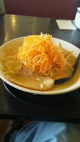 「辛ネギラーメン 味噌」@ラーメンの寶龍 小松インター店の写真