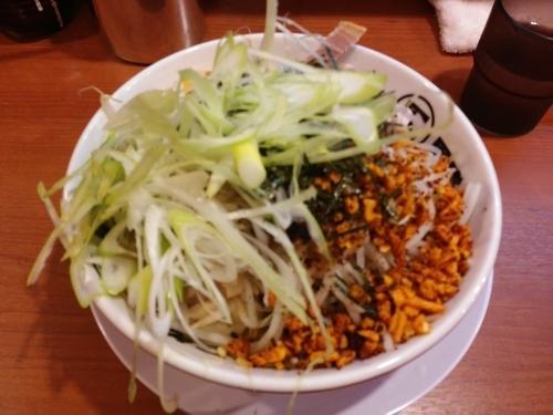 「あぶらー麺」@らーめん男盛 新狭山店の写真