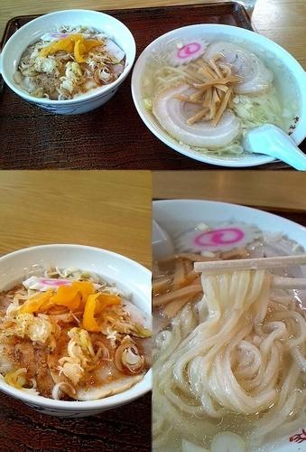 「『ランチCセット(¥1050)』を塩ラーメン指定で…」@やまや食堂 分店の写真
