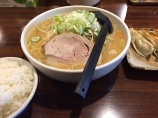 「なまらセット 味噌ラーメン大盛」@北海道ラーメン なまら 蒲生店の写真