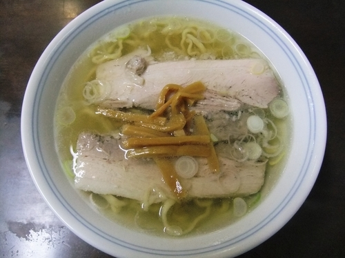 「塩とんとん麺(690円)」@とんとんの写真