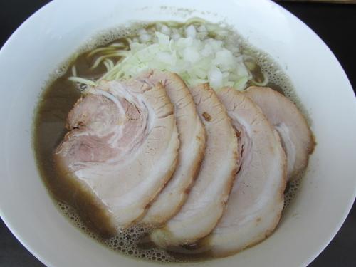 「肉中華そば(醤油)+大盛 「700円+200円」」@煮干乱舞の写真