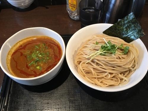 「カレーつけ麺」@ブラウン製麺所の写真