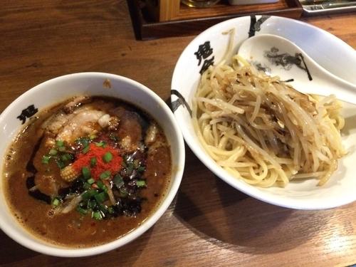 「カラシビつけ麺」@カラシビつけ麺 鬼金棒の写真
