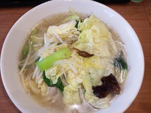 「塩タンメン」@王記厨房 イオン与野ショッピングセンターの写真