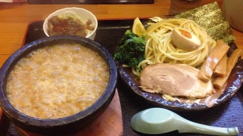 「濃厚伊勢海老つけ麺 かつお飯セット」@竹本商店★つけ麺開拓舎の写真