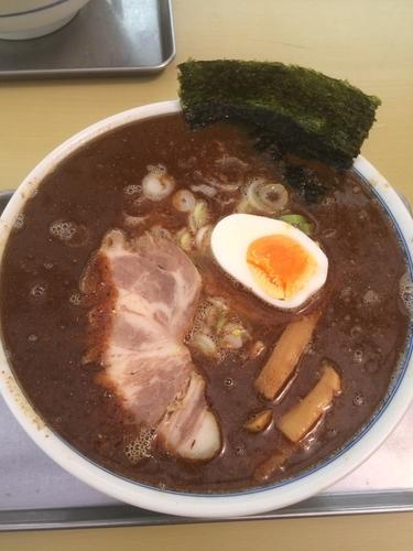 「煮干豚骨ラーメン」@大吉の写真
