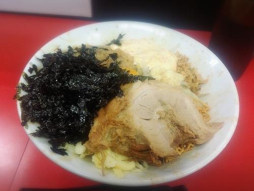 「【汁なし】780円」@ラーメン一心の写真
