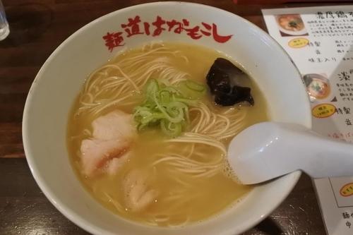 「濃厚鶏そば(並)」@麺道はなもこしの写真