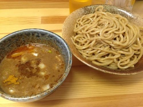 「カレーつけ麺(大盛)」@徳川膳武の写真