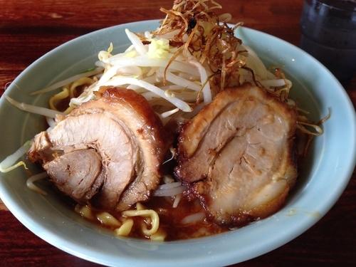 「味噌 平打麺」@豪徳寺ラーメン りらくしんの写真