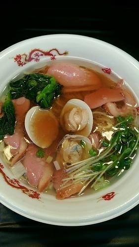 「鴨とハマグリそば」@大つけ麺博 presents 最強ラーメンFes,の写真