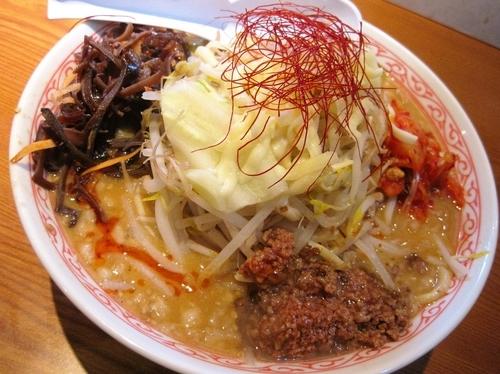 「【期間限定】常担麺¥780」@常勝軒 伊勢崎店の写真