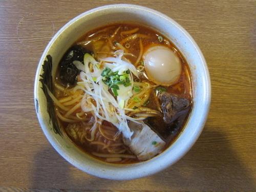 「トマトあっさり(トマト麺) 750円+味玉クーポン」@麺匠あじゃりの写真