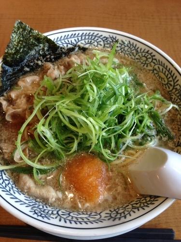 「ねぎ肉そば」@丸源ラーメン 足利店の写真