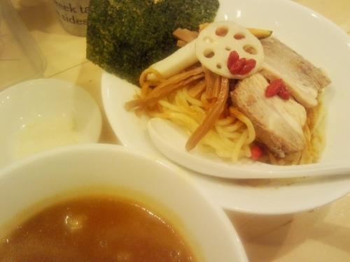 「【期間限定】超濃厚カレートマトつけ麺(並)¥900」@セサミ vege noodleの写真