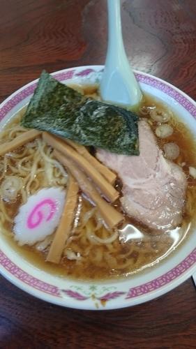 「ラーメン 600円」@宝来軒の写真