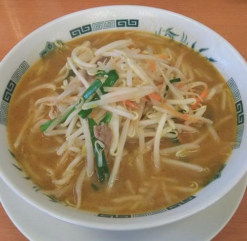 「味噌らーめん 500円」@中華食堂 日高屋 東大和店の写真