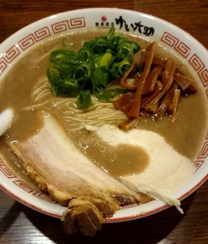 「豚骨ラーメン」@豚骨商店 ゆい六助 上田店の写真