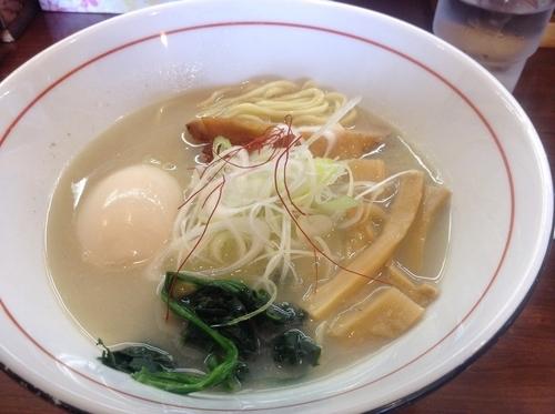 「味玉地鶏白湯ラーメン」@そうげんラーメンの写真