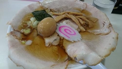 「チャーシューメン780円+煮玉子100円」@ラーメン そばよしの写真