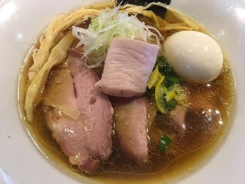 「虎徹そば    醤油」@麺や 虎徹の写真