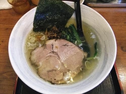 「らーめん(塩)(麺少なめ)(630円)」@麺屋 匠堂の写真