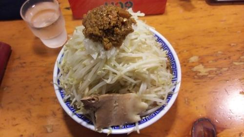 「味噌ラーメン(大)」@山勝角ふじ 新松戸店の写真