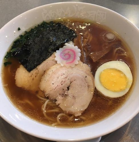 「中華そば竹食堂(麺固¥680)」@らあめん花月嵐 永福町店の写真