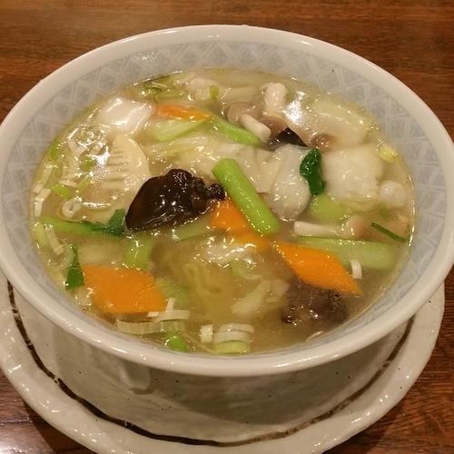 「エビめん(塩味)850円」@中国料理 揚州厨房 浜松店の写真