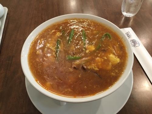 「酢辣湯麺」@さんぷくの写真